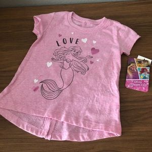 Disney Princess the little mermaid Ariel T-shirt